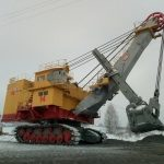 На Талдинском угольном разрезе запущен в эксплуатацию экскаватор ЭКГ-18 (20)