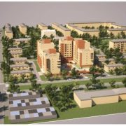 Проект планировки территории жилого дома