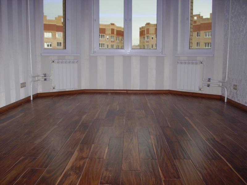 Как провести ремонт деревянных полов