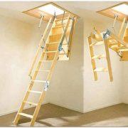 Алюминиевые люки-лестницы