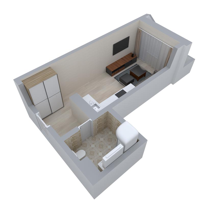 Однокомнатные квартиры в Краснодаре