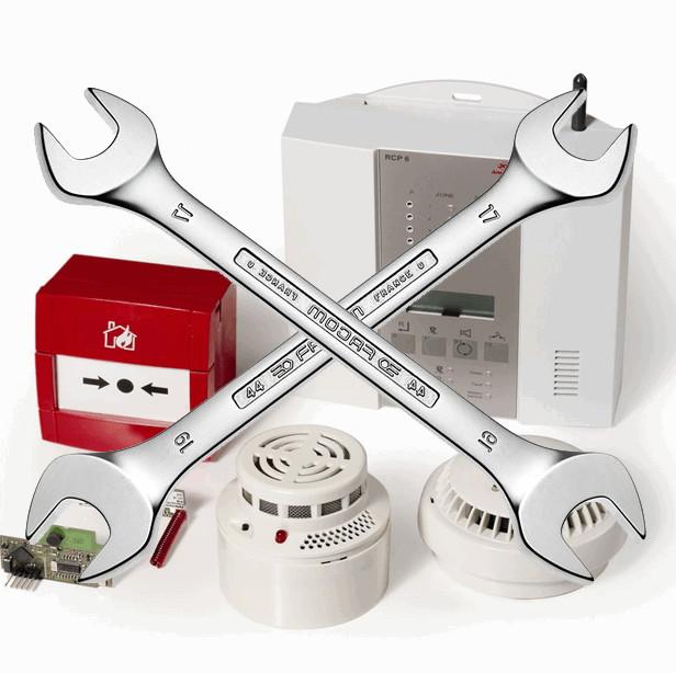Ремонт систем пожарной сигнализации