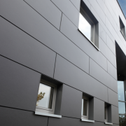 Применение фасадных плит