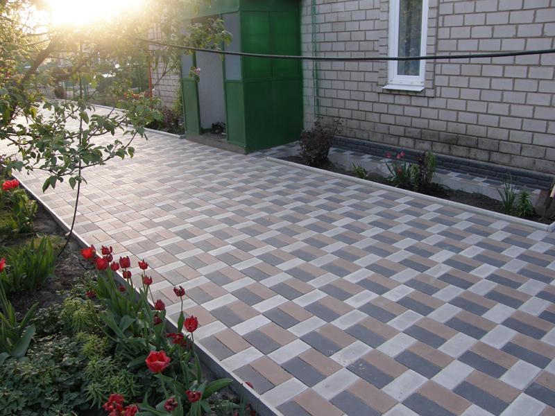 Правила подбора тротуарной плитки