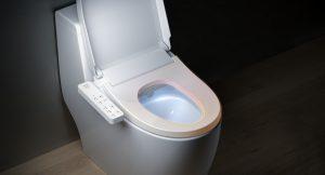 Крышка и сиденье для унитаза с полезными функциями для максимального комфорта