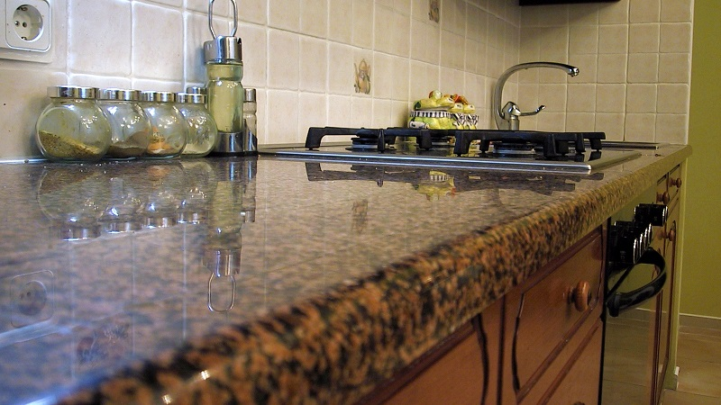 Замена кухонной столешницы