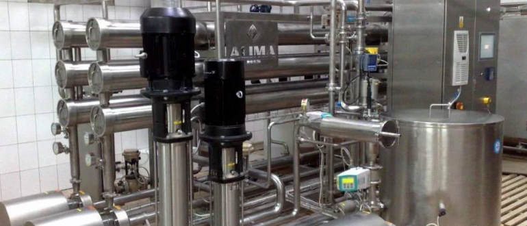 Оборудование на молочном производстве