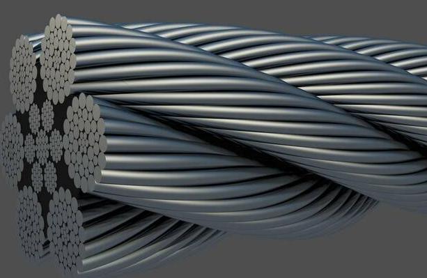 Применения стального троса