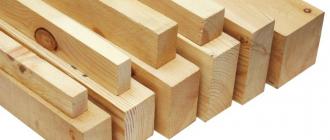 Использования бруса в постройке зданий