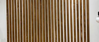 Применение декоративных реек в современном дизайне