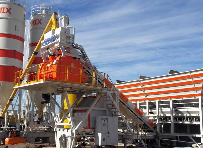 Мобильные заводы по изготовлению бетона производства Турции