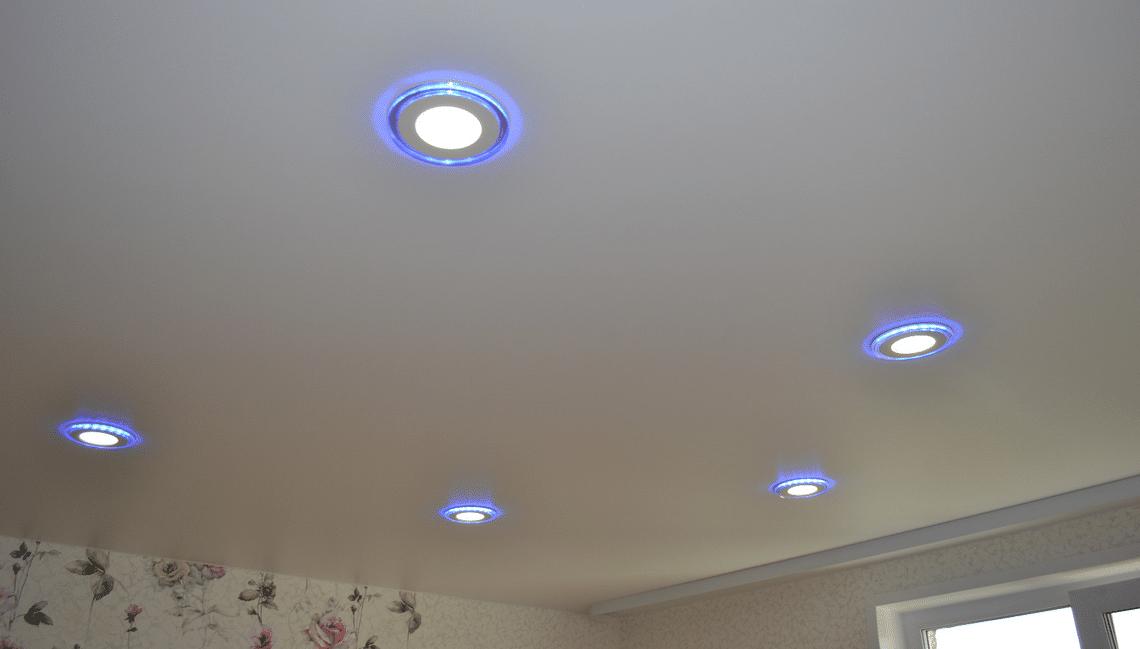 точечные светильники