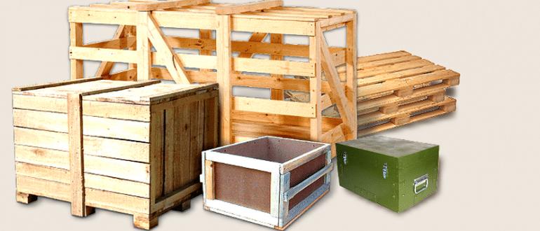 Достоинства и особенности применения деревянной тары
