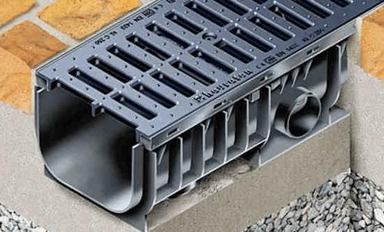 Водоотводная система, виды лотков, их преимущества и особенности