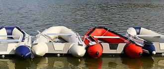 Лодка с ПВХ под мотор