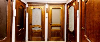 Правила выбор межкомнатной двери и популярные материалы