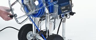 Преимущества и выбор техники у официального дистрибьютора фирмы GRACO
