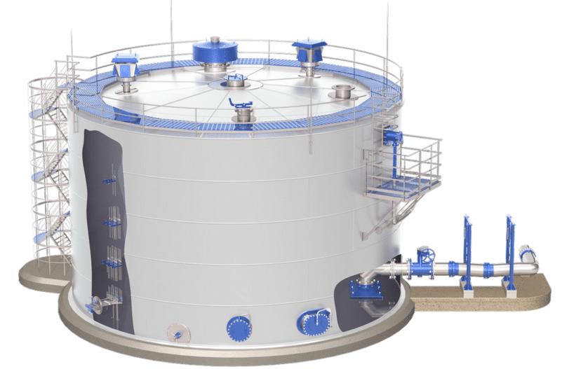 Все что стоит знать о вертикальных резервуарах для хранения жидкости